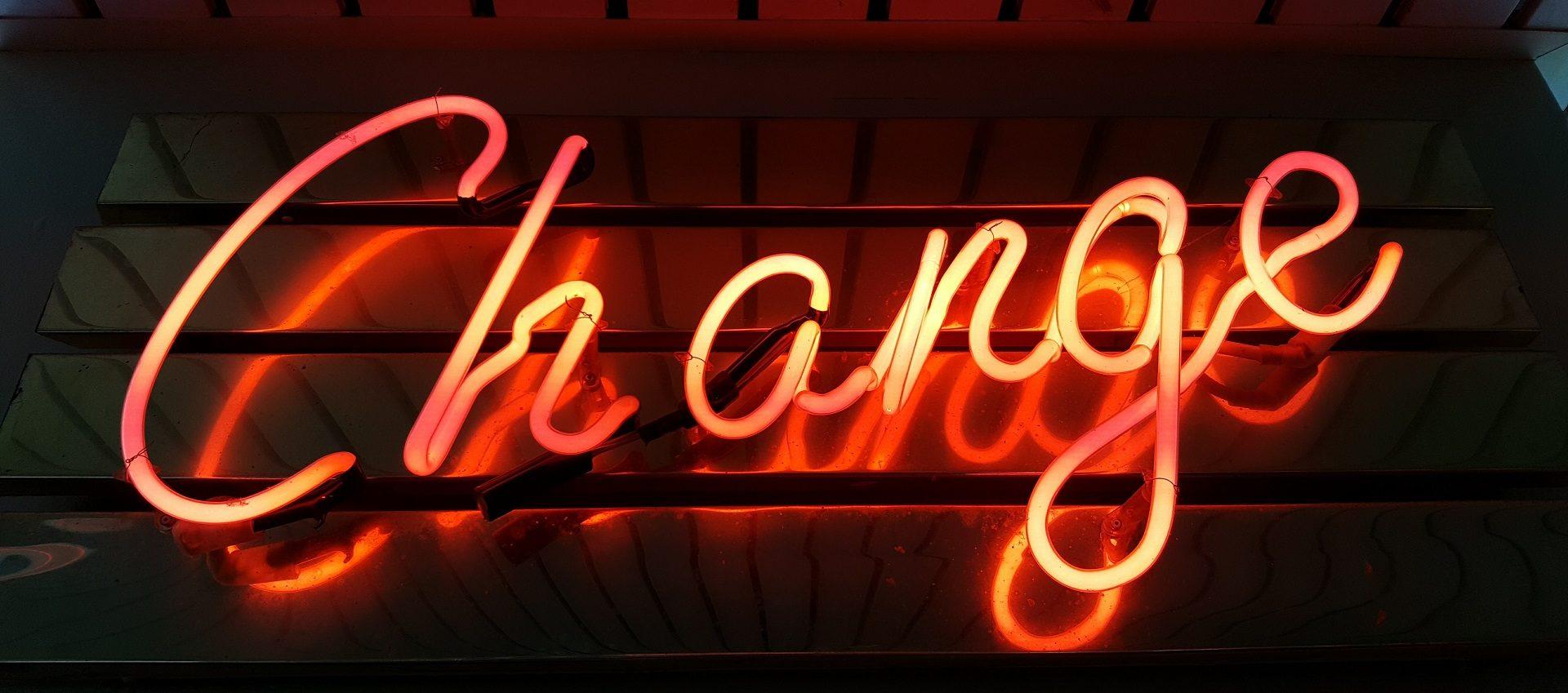 dokonać zmiany, jak dokonać zmiany, kiedy dokonać zmiany, Jak dokonać zmiany, gdy nie ma na nią czasu, dokonanie zmiany, dokonana zmiana, po co dokonać zmiany, jak łatwo dokonać zmiany