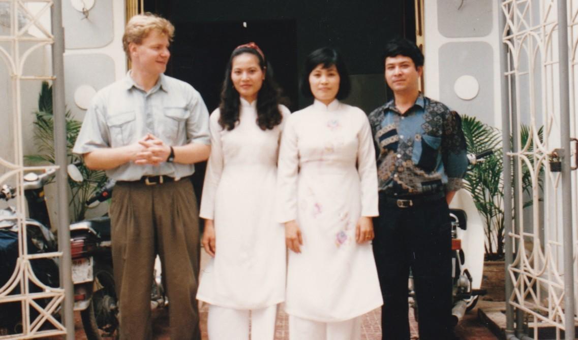 Tomasz Okrój w Wietnamie